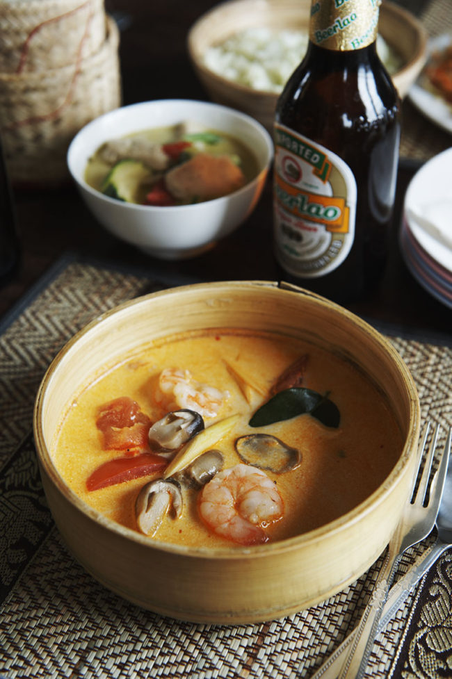 Thailande, recettes , Tom yam kung,