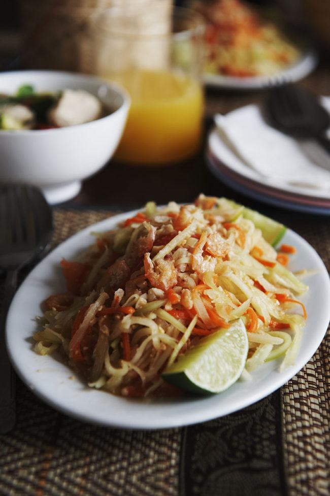Thailande recette som tam