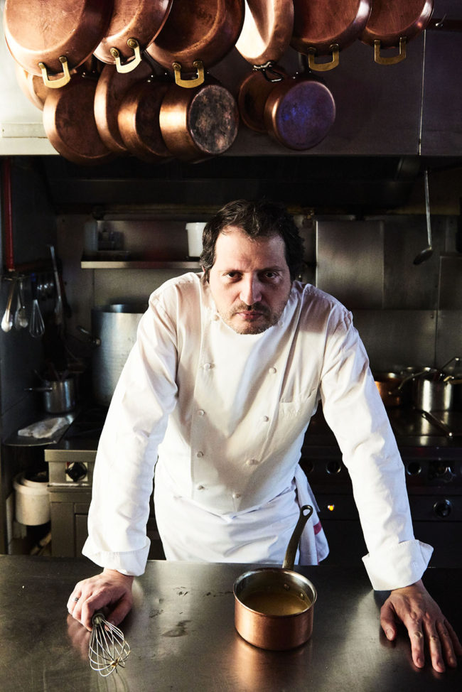 France, Ile de France, Paris, restaurant l'Assiette, chef David Rathgeber,